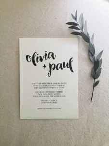 60 Simple Inexpensive Wedding Invitations Ideas