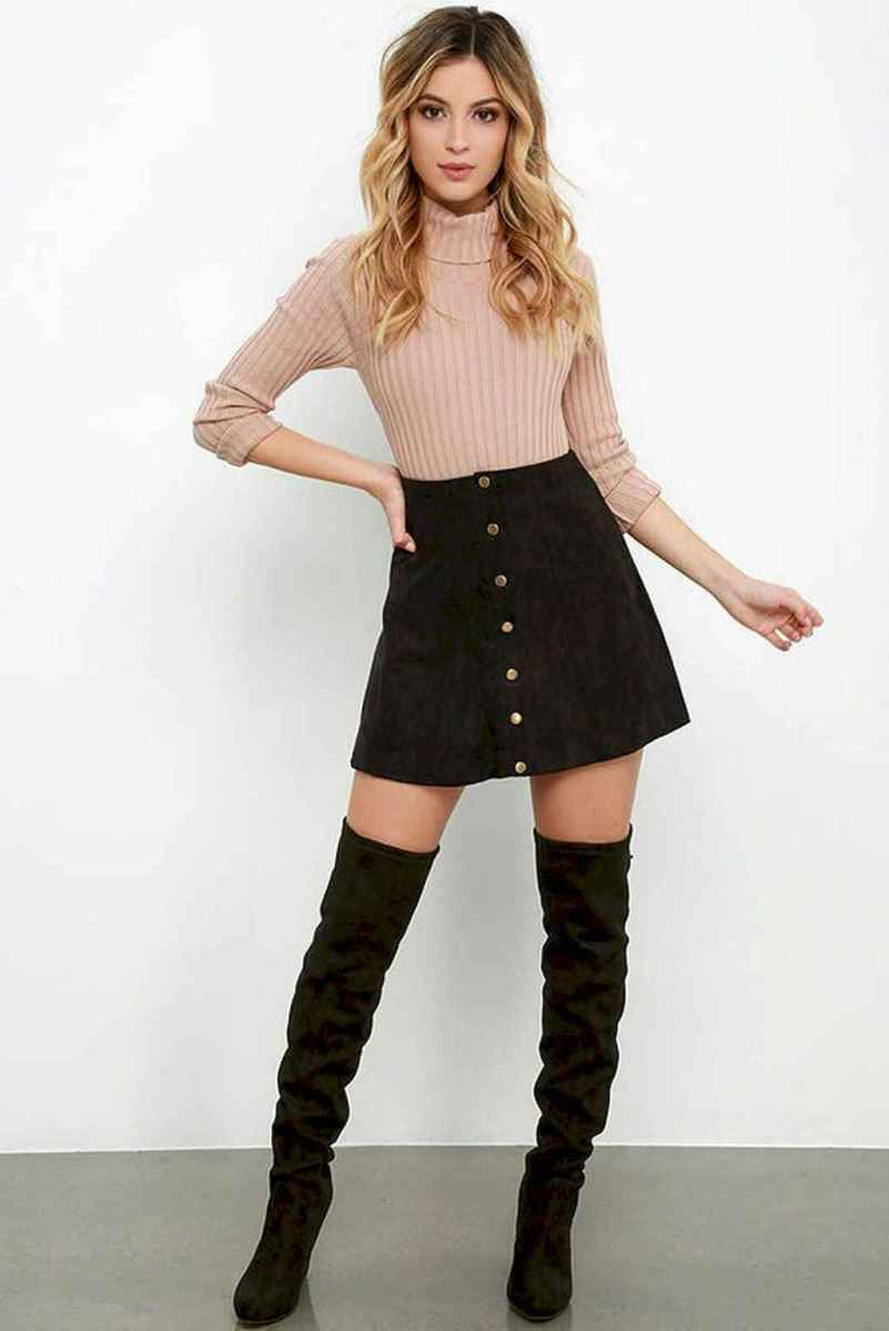 61Best Boots to Wear with Skirts