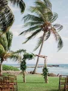 63 Romantic Tropical Wedding Ideas Reception Centerpiece