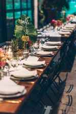 74 Romantic Tropical Wedding Ideas Reception Centerpiece