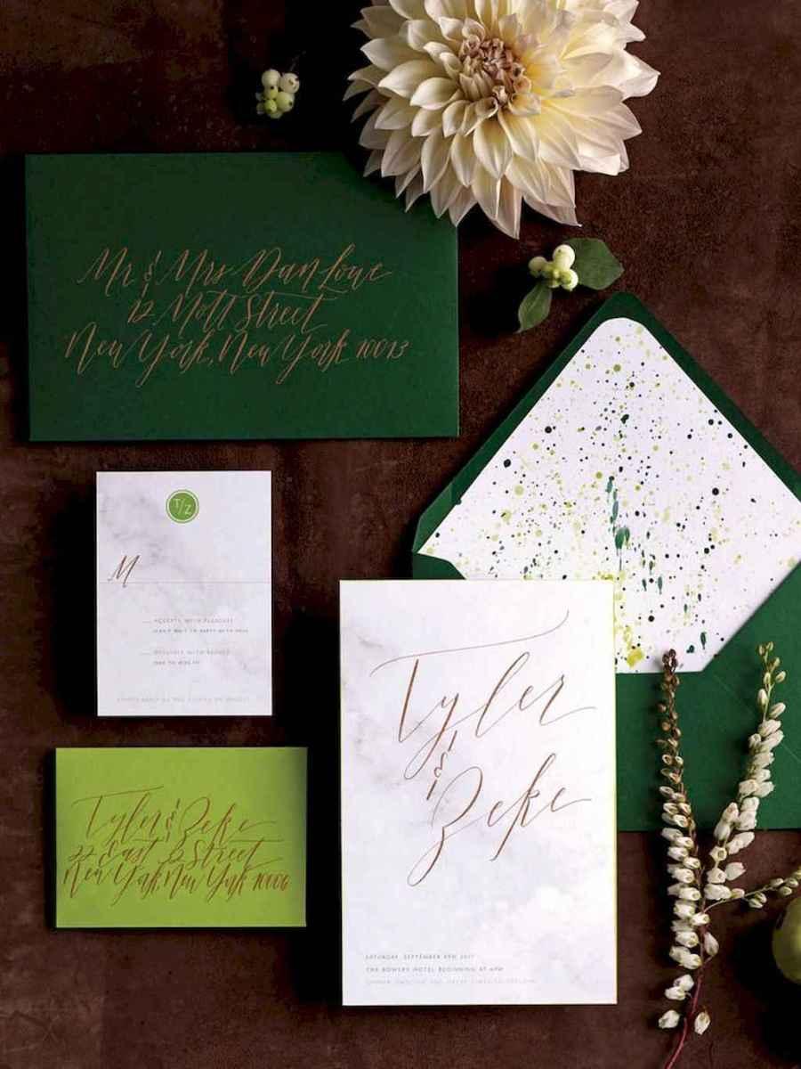 77 Elegant Christmas Wedding Invitations Ideas