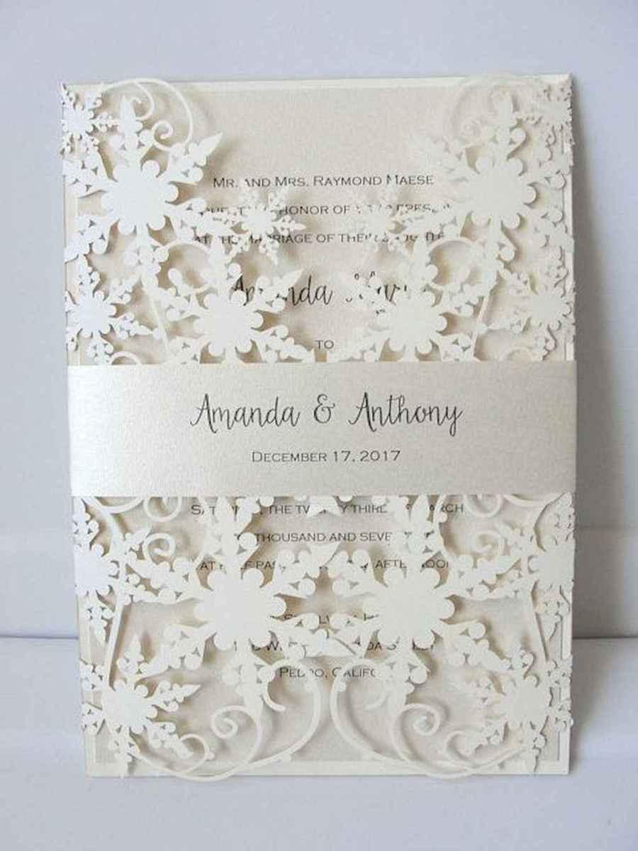 78 Elegant Christmas Wedding Invitations Ideas