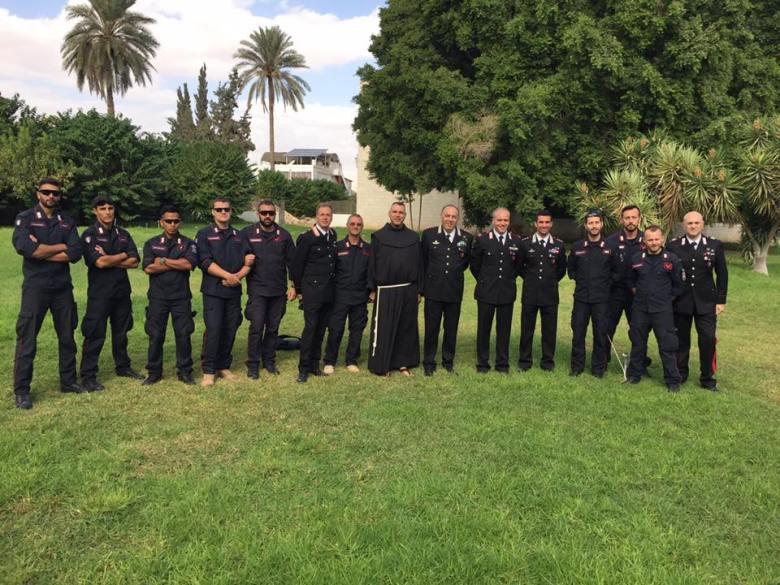Il gruppo di Carabinieri