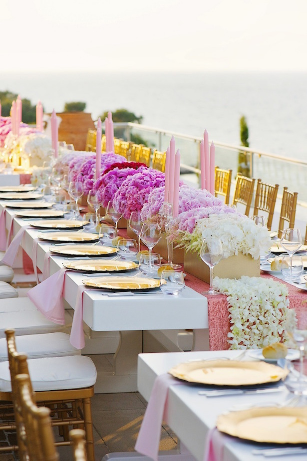 Floral Table Decorations Weddings