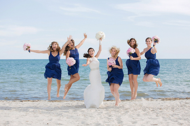 Pink And Blue Beach Theme Wedding Belle The Magazine