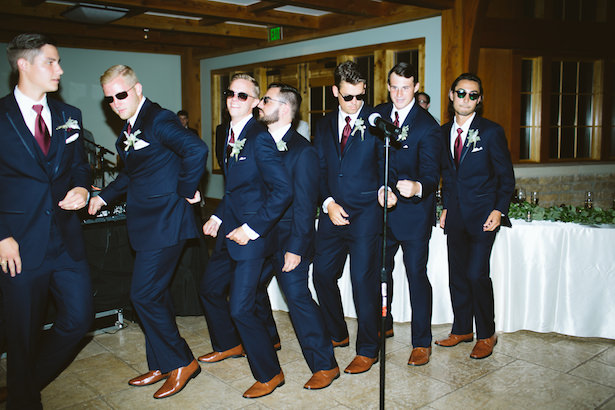 groomsmen outfits with navy blue suits photo elizabeth bristol