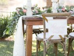 Rustic Romance Wedding Tablescape - Janita Mestre Photography
