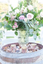 Wedding ceremony flowers- Janita Mestre Photography