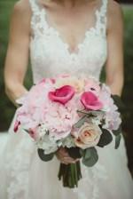 Pink wedding bouquet - Dani Leigh Photography