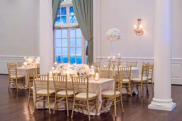 Ball room wedding reception decor- Heather Durham Photography