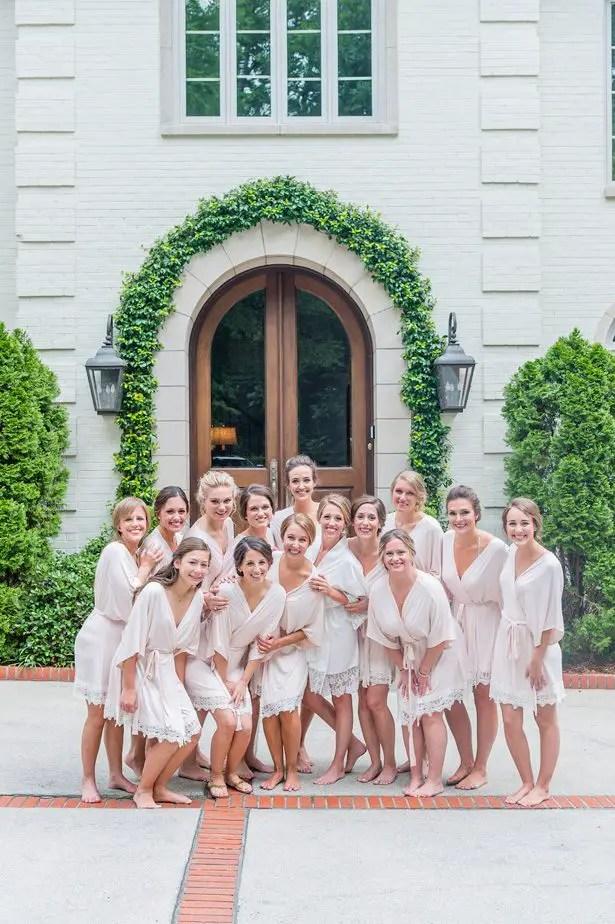 Bridesmaid robes-Heather Durham Photography