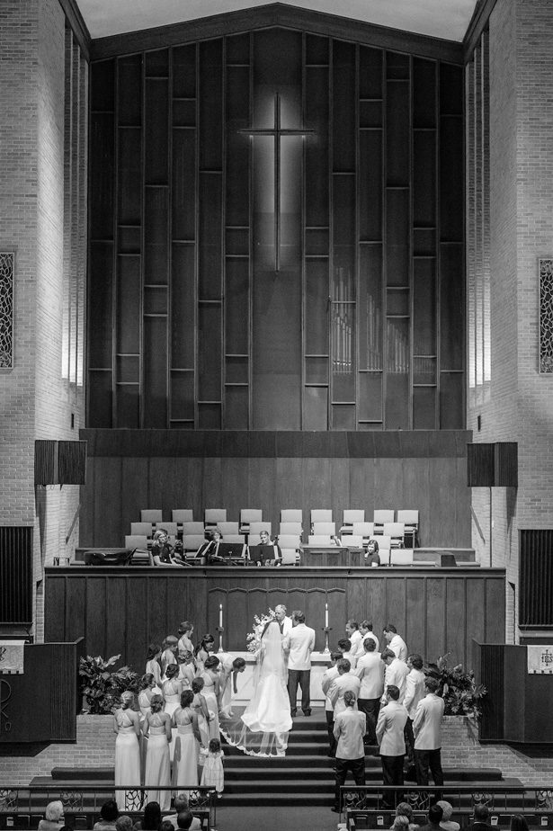 Church wedding ceremony- Heather Durham Photography