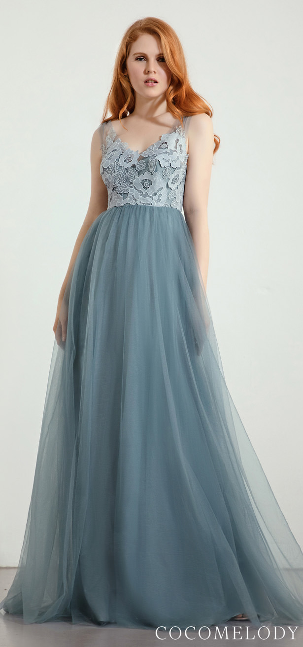 """Cocomelody 2020 - Lace Bridesmaid Dress Trends by Cocomelody 2020 - BELLA """"width ="""" 615 """"height ="""" 1312 """"data-pin-description ="""" Lace Bridesmaid Dress Trends by Cocomelody 2020 - Lace Bridesmaid Dress Trends by Cocomelody 2020 - BELLA 