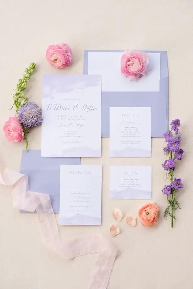 Spring Wedding Invitations - Bobby Jean Photography