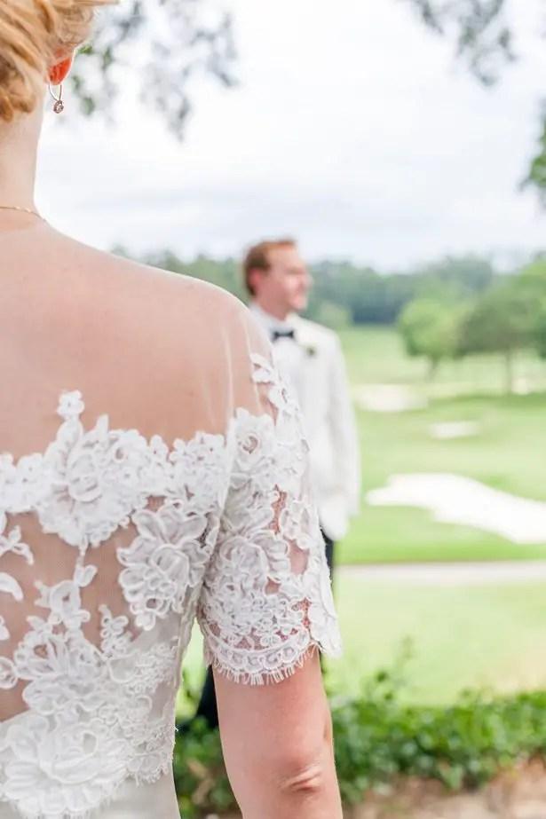 Romantic wedding photo - Heather Durham Photography