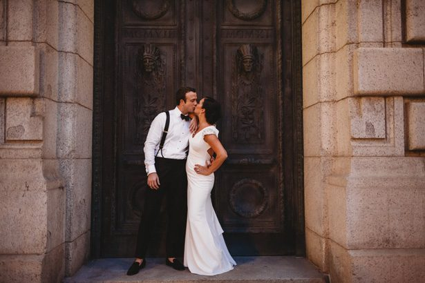 Romantic wedding photo - Man and Wife Photography
