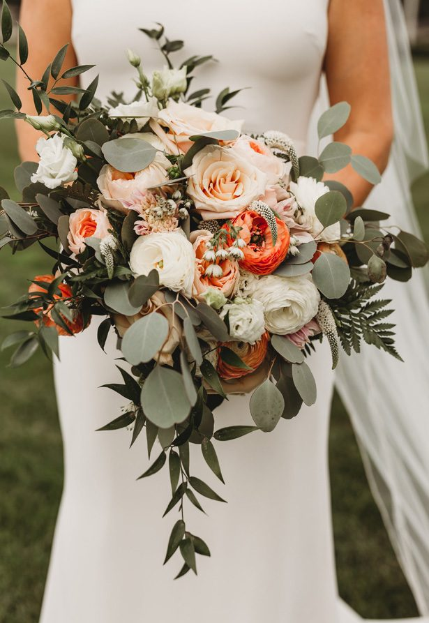 Wild Wedding Bouquet - Man and Wife Photography