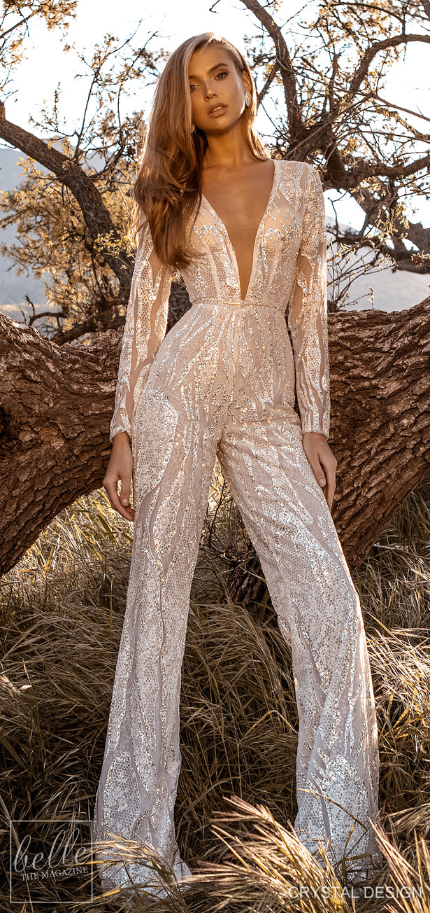 "Crystal Design Couture Wedding Dresses 2020 - Catching The Wind Collection - Cuba ""width ="" 615 ""height ="" 1304 ""data-pin-description ="" Crystal Design Couture Wedding Dresses 2020 - Catching The Wind Collection - Cuba 