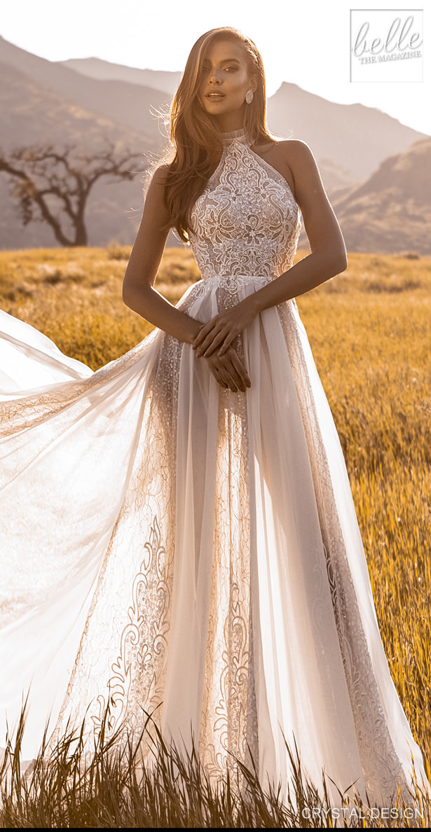 "Crystal Design Couture Wedding Dresses 2020 - Catching The Wind Collection - Ibiza ""width ="" 615 ""height ="" 1188 ""data-pin-description ="" Crystal Design Couture Wedding Dresses 2020 - Catching The Wind Collection - Ibiza 