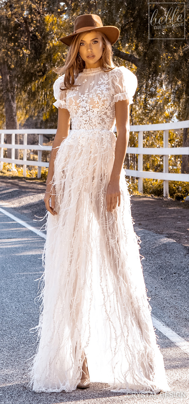 Crystal Design Couture Wedding Dresses 2020 - Catching The Wind Collection-Naomi