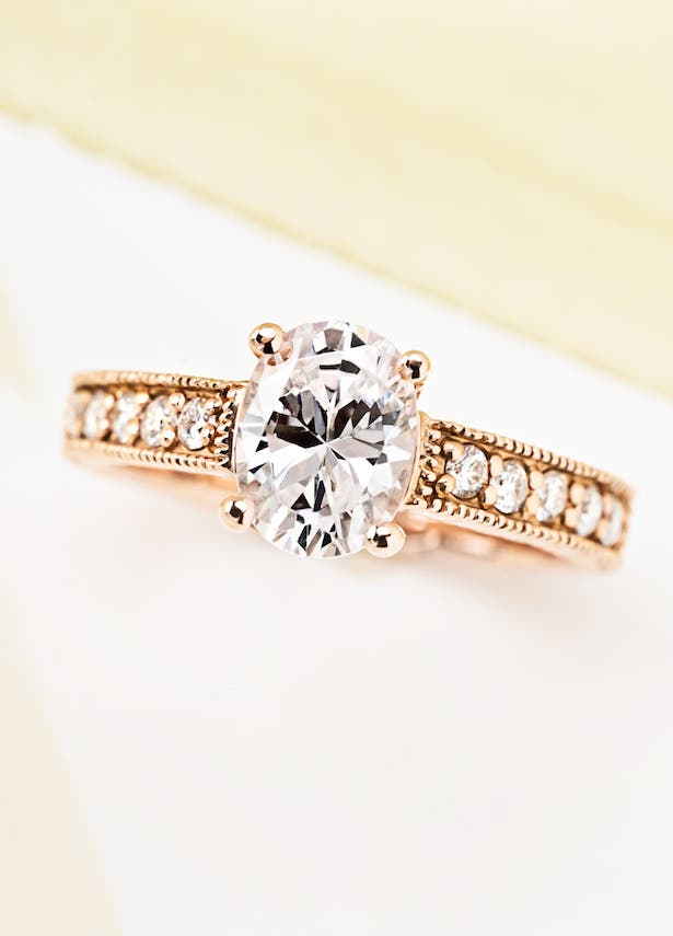 MiaDonna Ethical Engagement Rings with Lab-grown diamonds - Honey