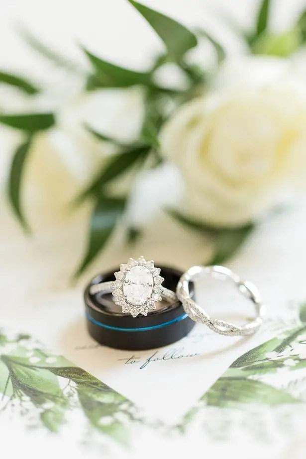 boho wedding ring - Theresa Bridget Photography