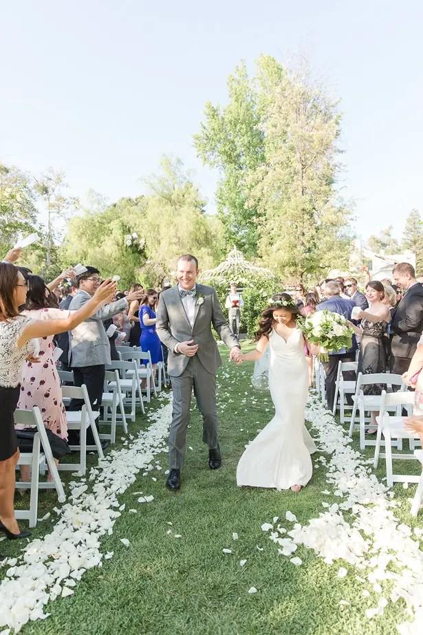 outdoor boho wedding ceremony - Theresa Bridget Photography