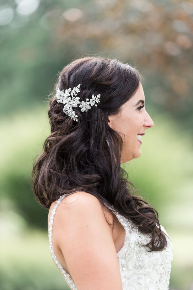 Wedding Day hair with loose curls - Lynne Reznick Photography