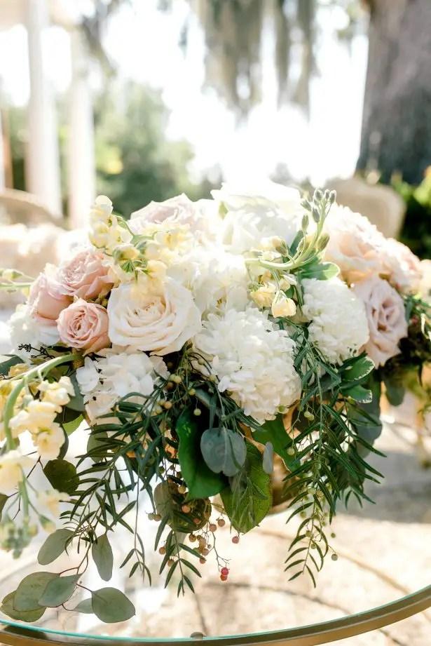 Wedding centerpiece - Photography: Hi Volt Studios