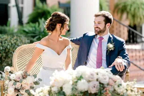 Classy Southern Romance Wedding Inspiration