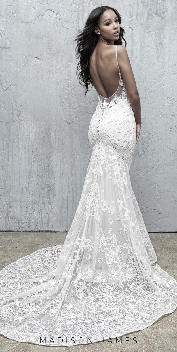 Stunning Wedding Dresses by Madison James Fall 2019 - MJ569