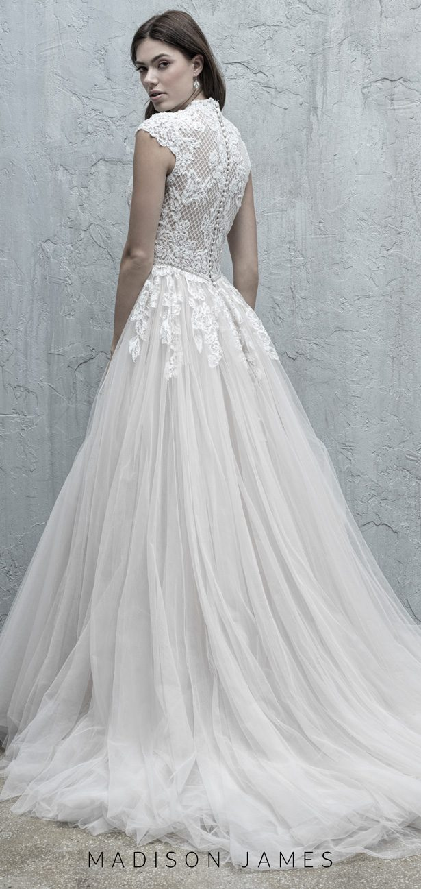 Stunning Wedding Dresses by Madison James Fall 2019 - MJ574