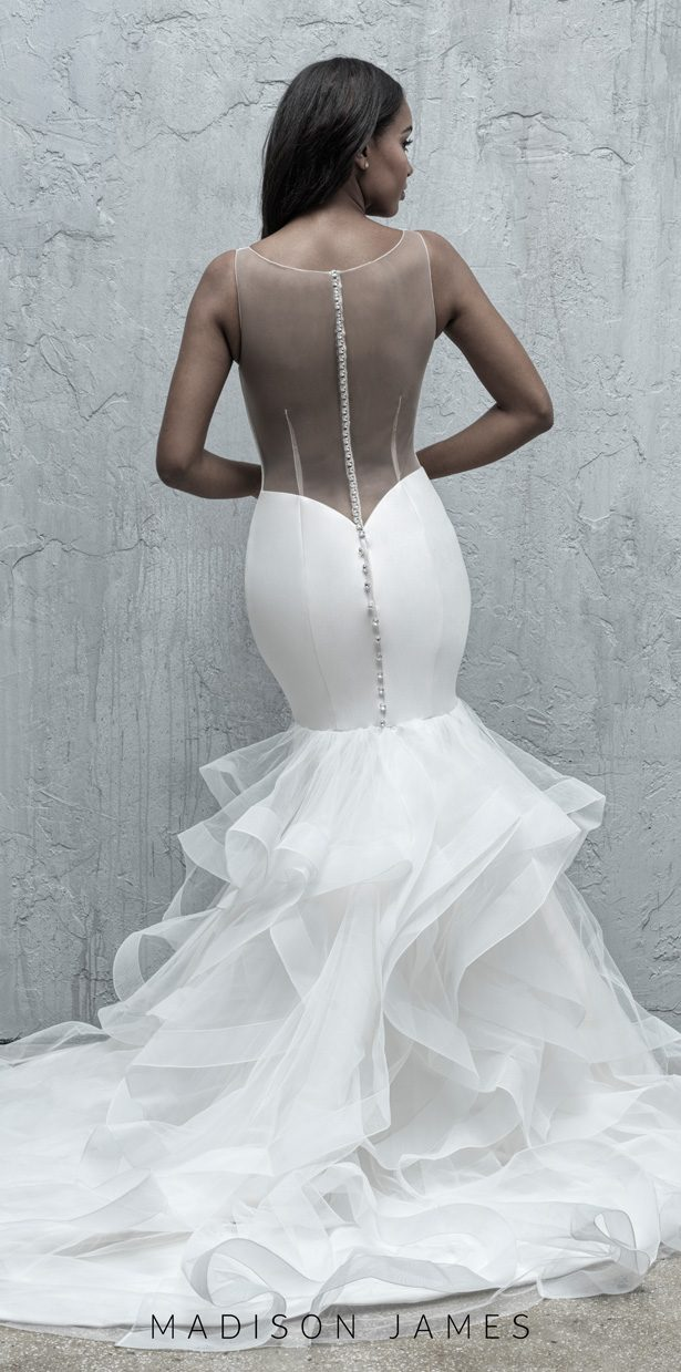 Stunning Wedding Dresses by Madison James Fall 2019 - MJ575B