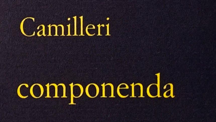 Lista parziale delle parole che ci ha regalato Andrea Camilleri