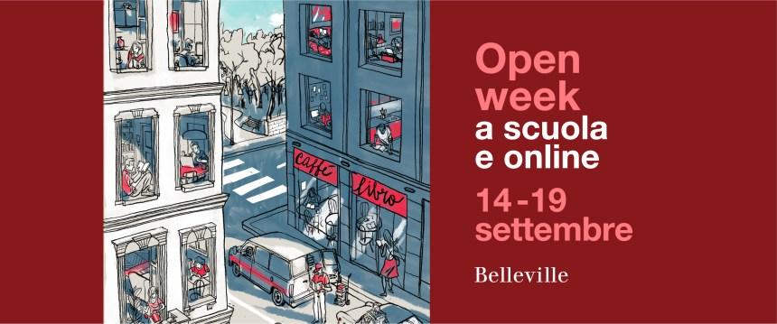 Open Week Belleville: dal 14 al 19 settembre 2020