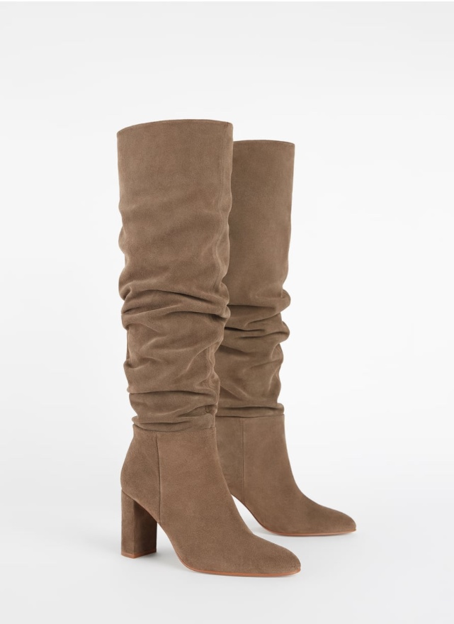 Fall trend, slouchy boots