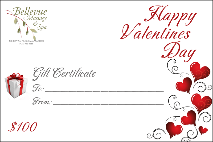Gift Cards Bellevue Massage And Spa