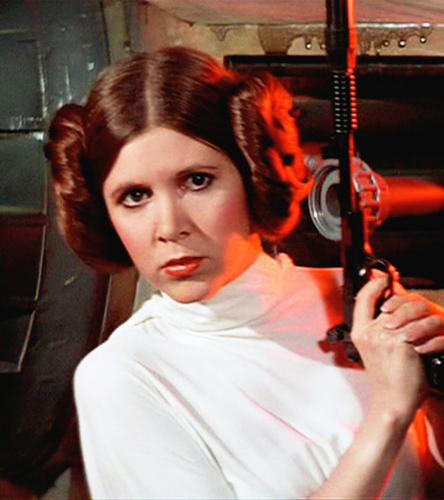 Star Wars, peinados de Star Wars, Leia