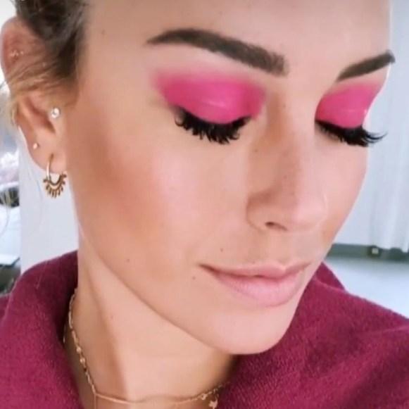 IG @blanca_suarez / maquillaje de Natalia Belda