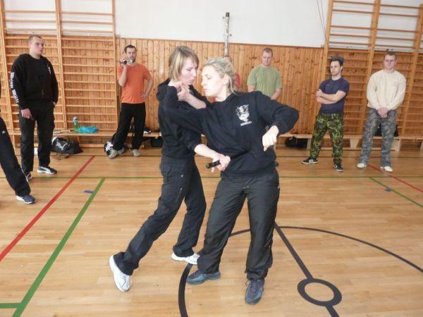 Systema : les filles en pleine action