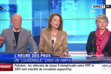 Une journaliste refuse de croire qu'une femme est violée toutes les 7 minutes en France