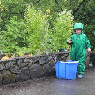 "Squamish is making ""eau terreuse"" (muddy water)."