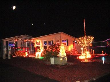 Lights on James Street