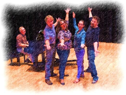 Broadway cabaret ensemble oct 2014 painting compressed