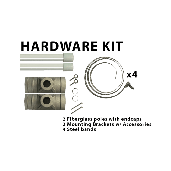 Pole Banner Hardware Kit