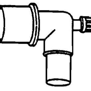 Mask Elbow Gas Sampling Connectors