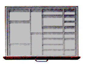 Drawer Divider Kits, 16 Compartments