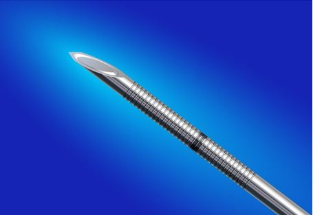 EchoBlock PTC Non-Insulated Needles