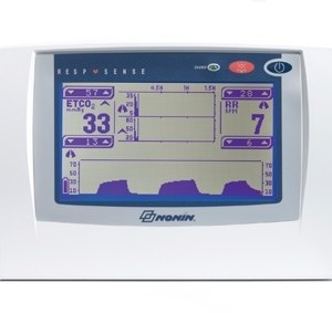 Bell Medical Nonin Capnography Monitor, ETCO2 only