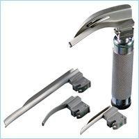 MRI Fiberoptic Laryngoscope Blades